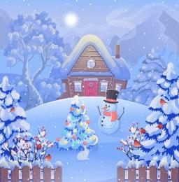 Купить Баннер праздничный зимний к Новому году в России от 500.00 ₽