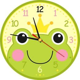 Купить Часы настенные кварцевые Царевна-лягушка 250*250 мм в России от 622.00 ₽