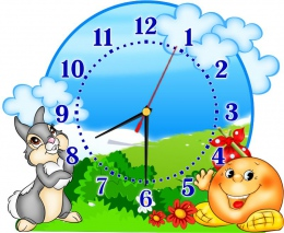 Купить Часы настенные кварцевые для группы Сказка 390*310 мм в России от 725.00 ₽