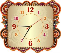Купить Часы настенные кварцевые для кабинета трудового обучения 330*290мм. в России от 677.00 ₽