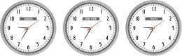 Купить Часы настенные кварцевые Нью-Йорк, Лондон, Токио 3 шт. 360*360 мм в России от 2325.00 ₽
