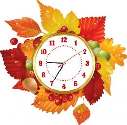 Купить Часы настенные кварцевые Осень 490*500мм в России от 1510.00 ₽