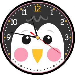 Купить Часы настенные кварцевые Пингвин 250*250 мм в России от 622.00 ₽