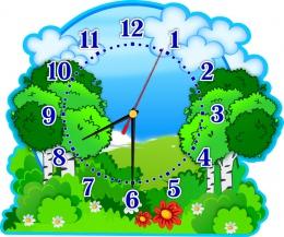 Купить Часы настенные кварцевые в группу Березка  380*320 мм в России от 725.00 ₽