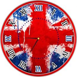 Купить Часы настенные кварцевые в кабинет иностранного языка  400*400 мм в России от 814.00 ₽