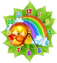 Купить Часы настенные кварцевые в стиле группы Добрые сердца 270*300 мм в России от 674.00 ₽