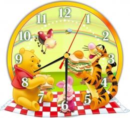 Купить Часы настенные кварцевые в стиле группы Мультяшки 270*250мм в России от 674.00 ₽