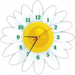 Купить Часы настенные кварцевые в стиле группы Ромашка 370*370 мм в России от 702.00 ₽