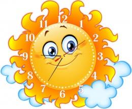Купить Часы настенные кварцевые в стиле группы Солнышко 400*330 мм в России от 803.00 ₽