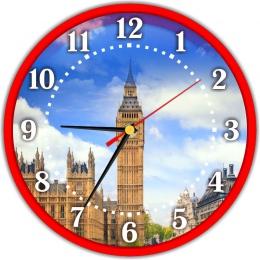 Купить Часы в кабинет английского языка 250*250 мм в России от 604.00 ₽