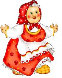 Купить Фигурный двухсторонний элемент для оформления детской площадки и группы  герои сказок Бабка 480*620 мм в России от 1522.00 ₽