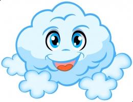 Купить Фигурный элемент Облачко для оформления детской площадки и группы 400*310 мм в России от 458.00 ₽