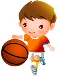Купить Фигурный односторонний элемент Виды спорта - Баскетбол  370*500мм в России от 683.00 ₽