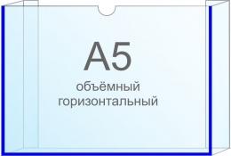 Купить Карман объёмный горизонтальный А5 самоклеящийся 225х155см в России от 105.00 ₽