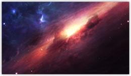 Купить Картина на холсте Космическая туманность в России от 408.00 ₽