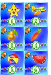 Купить Карточки для стенда Мы дежурим группа Золотая рыбка 30 шт. 95*95мм в России от 332.00 ₽