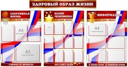 Купить Комплект стендов по физкультуре Здоровый образ жизни в России от 10461.00 ₽