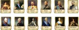 Купить Комплект стендов портретов Русских царей для кабинета истории 12 шт. 330*400 мм в России от 5602.00 ₽