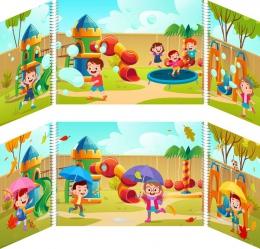 Купить Маркер игрового пространства  Детская площадка 870*300 мм в России от 1332.00 ₽