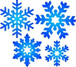 Купить Наклейки на стенды Снежинки 21 шт в России от 258.00 ₽