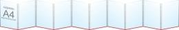 Купить Папка-передвижка на 10 вертикальных карманов А4 в России от 1650.00 ₽