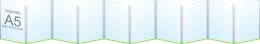 Купить Папка-передвижка на 10 вертикальных карманов А5 в России от 1055.00 ₽