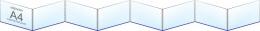 Купить Папка-передвижка на 8 горизонтальных карманов А4 в России от 1330.00 ₽