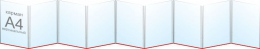 Купить Папка-передвижка на 9 вертикальных карманов А4 в России от 1490.00 ₽
