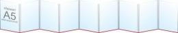 Купить Папка-передвижка на 9 вертикальных карманов А5 в России от 955.00 ₽