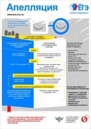 Купить Плакат Информационный  Апелляция 300*420 мм в России от 474.00 ₽