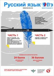 Купить Плакат Информационный  Русский язык 300*420 мм в России от 474.00 ₽