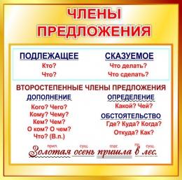 Купить Стенд Члены предложения в золотисто-коричневых тонах 550*550мм в России от 1137.00 ₽