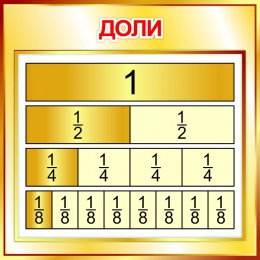 Купить Стенд Доли  550*550мм в России от 1080.00 ₽