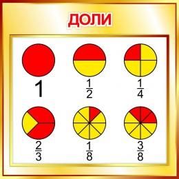 Купить Стенд Доли в стиле Осень 550*550мм в России от 1080.00 ₽