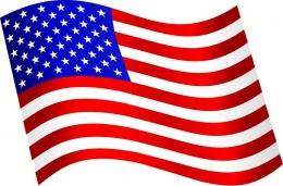 Купить Стенд  Флаг Америки в кабинет английского языка  330*310мм в России от 377.00 ₽