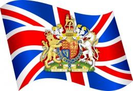 Купить Стенд  Флаг и герб Великобритании в кабинет английского языка  330*310мм в России от 377.00 ₽