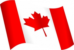 Купить Стенд  Флаг Канады в кабинет английского языка 330*310 мм в России от 399.00 ₽