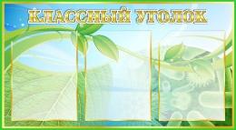 Купить Стенд Классный уголок  для кабинета биологии 800*440мм в России от 1564.00 ₽