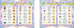 Купить Стенд-композиция Логопедическая зарядка из 2-х частей группа Бабочки в России от 1107.00 ₽