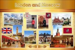 Купить Стенд London and Moscow 1200*800 мм в России от 3427.00 ₽