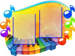 Купить Стенд Нотка в кабинет Музыки маленький 740*560мм в России от 1689.00 ₽