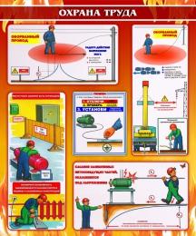Купить Стенд Охрана труда 1000*1200мм в России от 4296.00 ₽