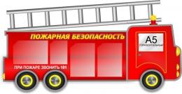 Купить Стенд  Пожарная безопасность 1600*810 мм в России от 5135.00 ₽
