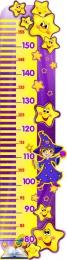 Купить Стенд-Ростомер для группы Волшебники 245*940 мм в России от 935.00 ₽