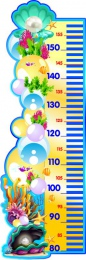 Купить Стенд-Ростомер для группы Жемчужинка 300*900 мм в России от 1050.00 ₽