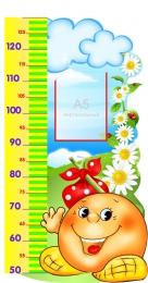 Купить Стенд-Ростомер в группу Сказка 470*830мм в России от 1489.00 ₽