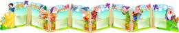 Купить Стенд-ширма Белоснежка и семь гномов в виде папки-передвижки с карманами А4 3380*530мм в России от 10259.00 ₽