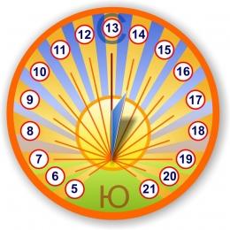 Купить Стенд солнечные часы 310*310мм в России от 390.00 ₽