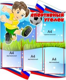 Купить Стенд Спортивный уголок 750*900 мм в России от 2811.00 ₽