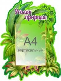 Купить Стенд Уголок природы 440*580 мм в России от 1022.00 ₽